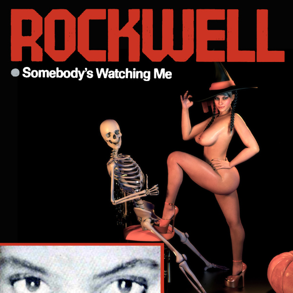 Cover Artwork Remix of Rockwell Watching Me