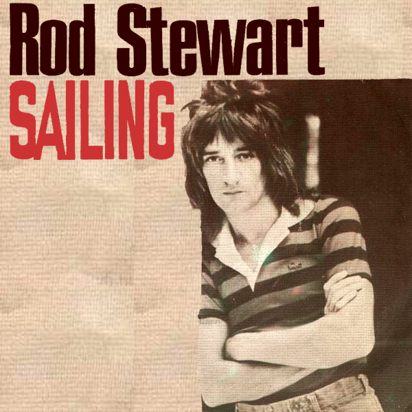 Original Cover Artwork of Rod Stewart Sailing