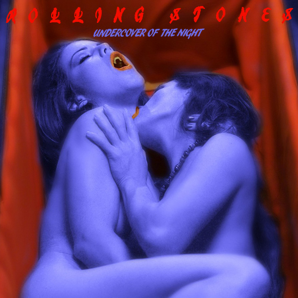 Cover Artwork Remix of Rolling Stones Undercover Of The Night