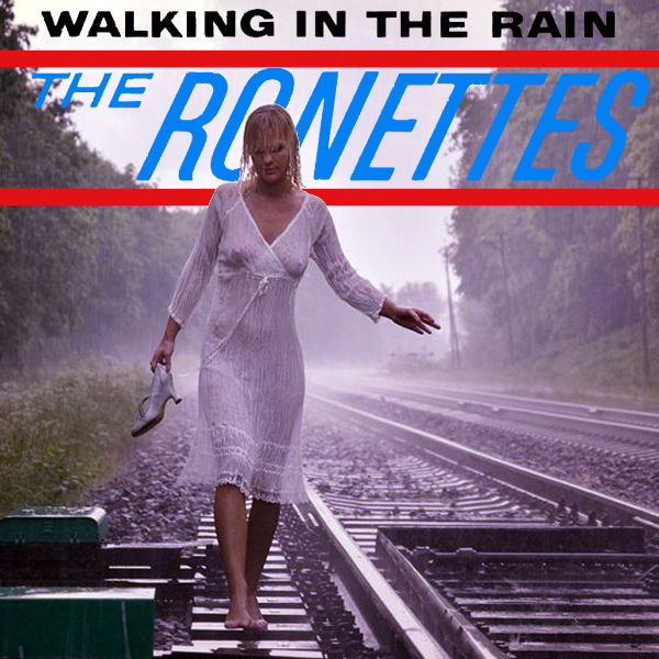 Cover Artwork Remix of Ronettes Walking In The Rain