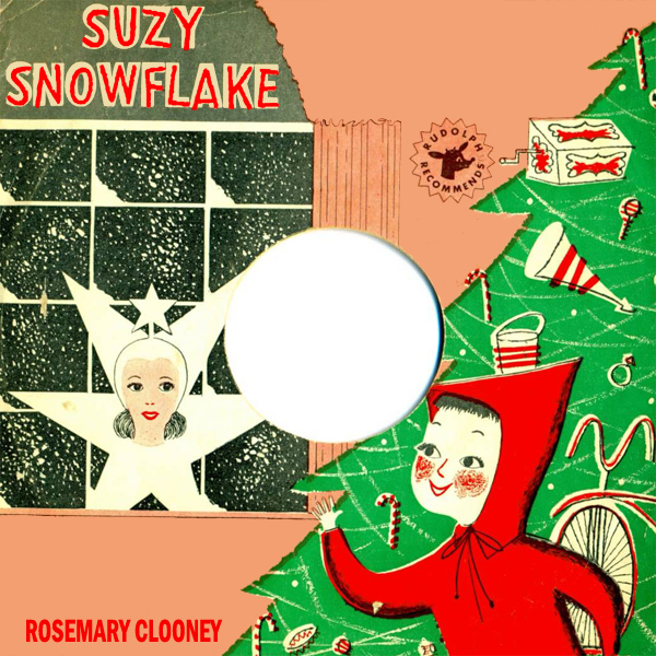 Original Cover Artwork of Rosemary Clooney Suzy Snowflake