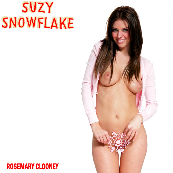 Cover Artwork Remix of Rosemary Clooney Suzy Snowflake
