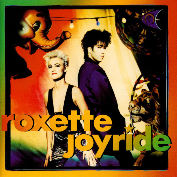 Original Cover Artwork of Roxette Joyride