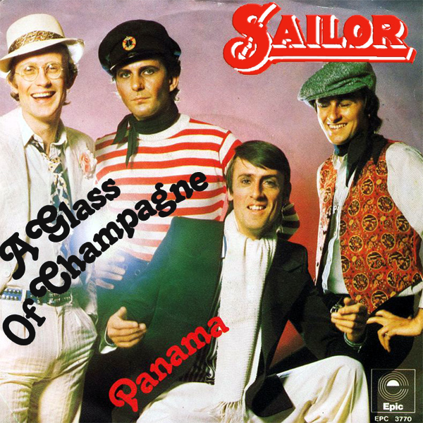Original Cover Artwork of Sailor A Glass Of Champagne