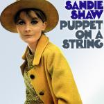 Original Cover Artwork of Sandie Shaw Puppet On A String