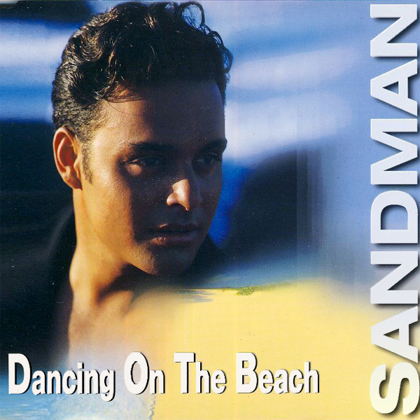sandman dancing on the beach 1