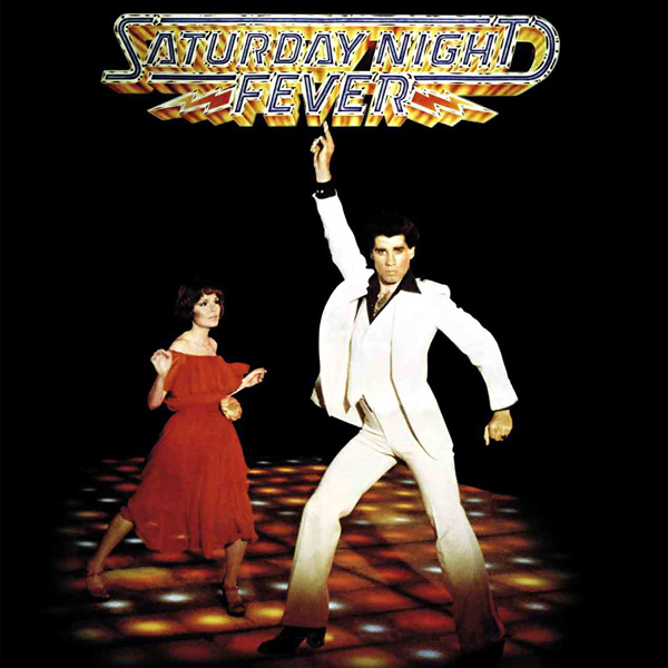 Original Cover Artwork of Saturday Night Fever