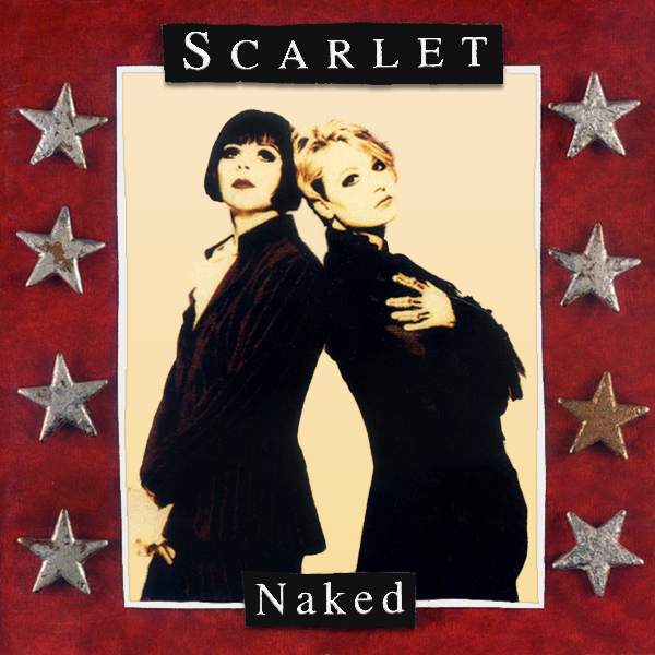 Original Cover Artwork of Scarlet Naked