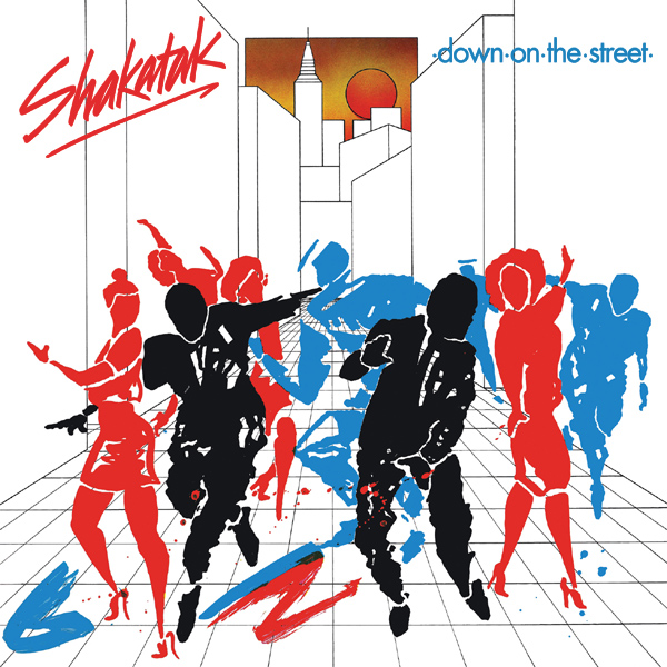 Original Cover Artwork of Shakatak Down On The Street