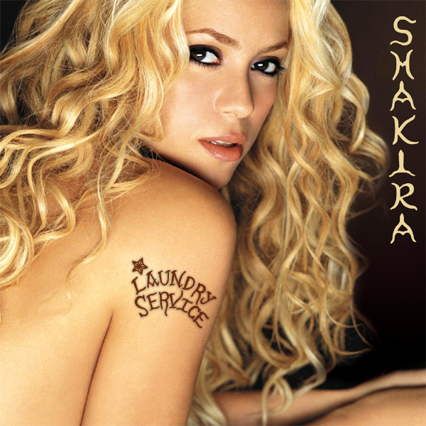 Original Cover Artwork of Shakira Laundry Service