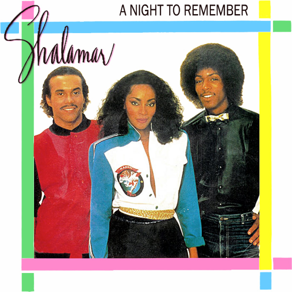 Original Cover Artwork of Shalamar A Night To Remember