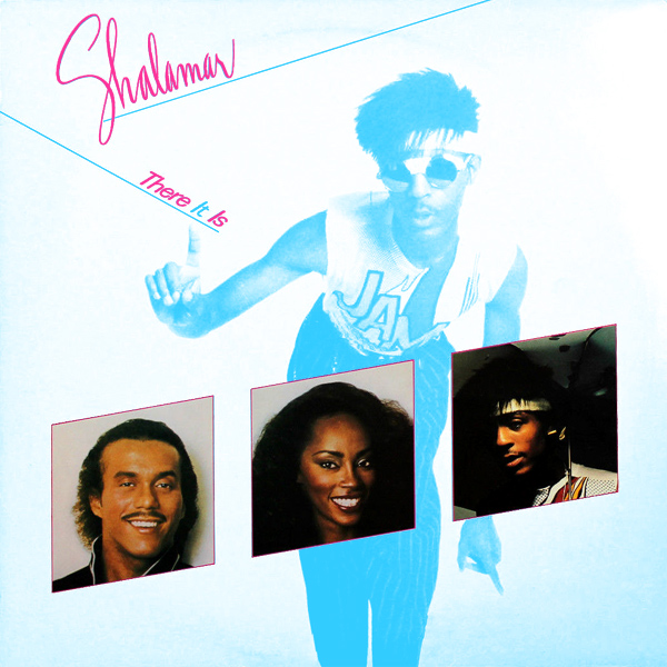 Original Cover Artwork of Shalamar There It Is