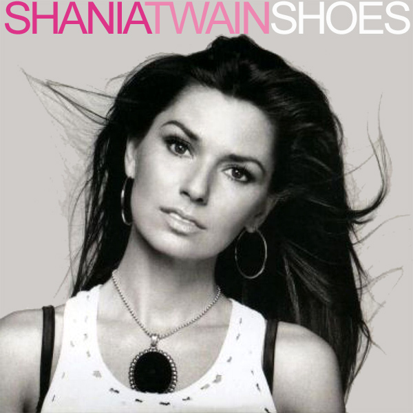 Original Cover Artwork of Shania Twain Shoes