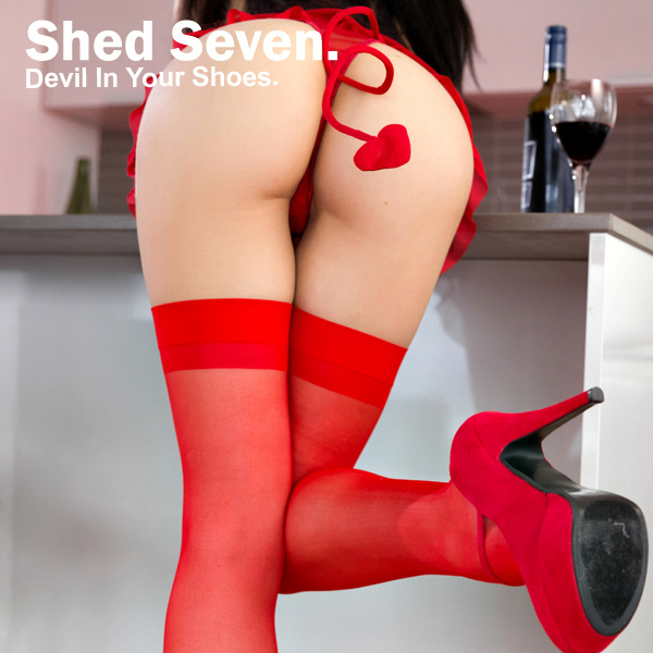 Cover Artwork Remix of Shed Seven Devil In Your Shoes