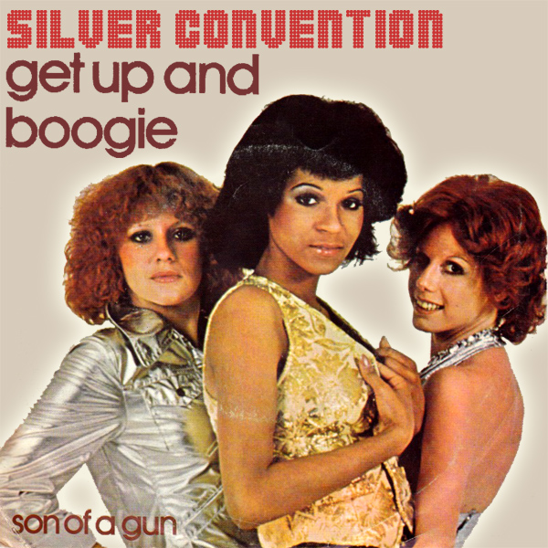Original Cover Artwork of Silver Convention Get Up And Boogie