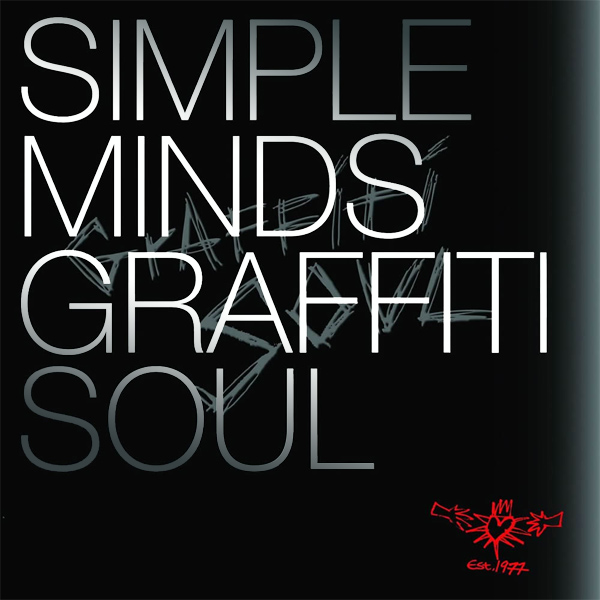 Original Cover Artwork of Simple Minds Graffti Soul