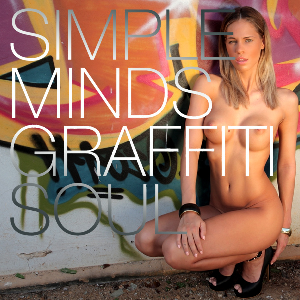 Cover Artwork Remix of Simple Minds Graffti Soul
