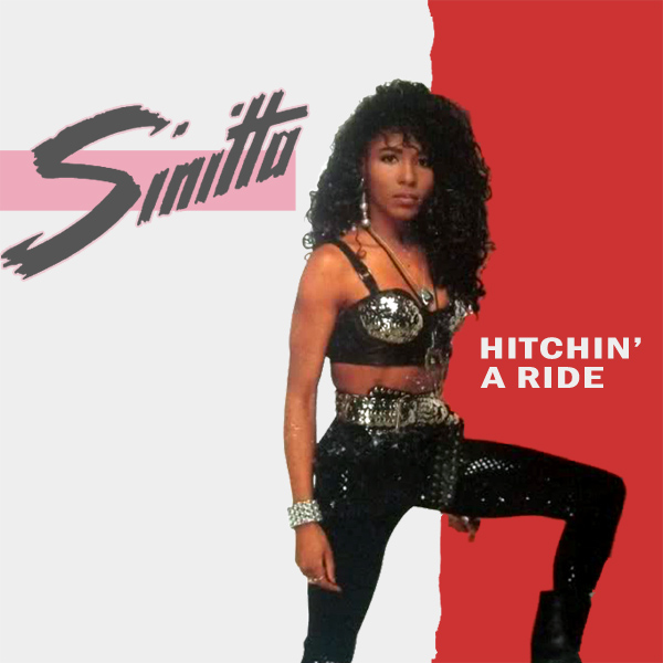 Original Cover Artwork of Sinitta Hitchin A Ride