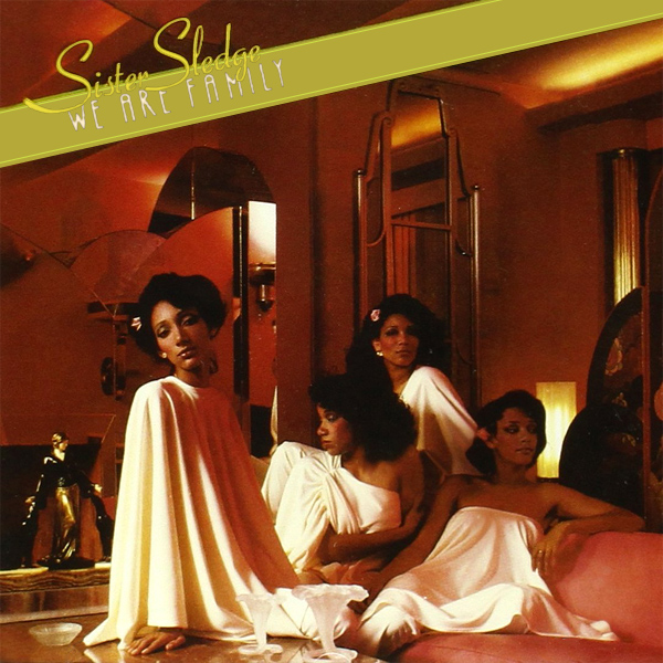 Original Cover Artwork of Sister Sledge We Are Family
