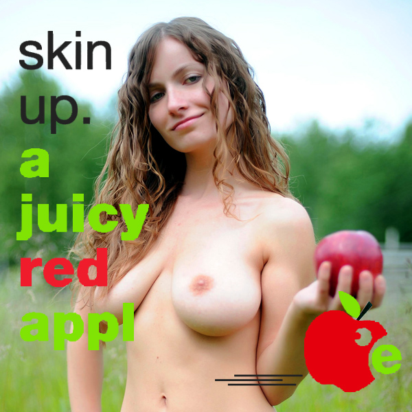 skin up a juicy red apple remix