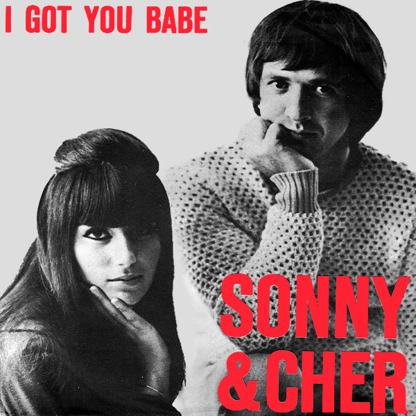 Original Cover Artwork of Sonny Cher I Got You Babe