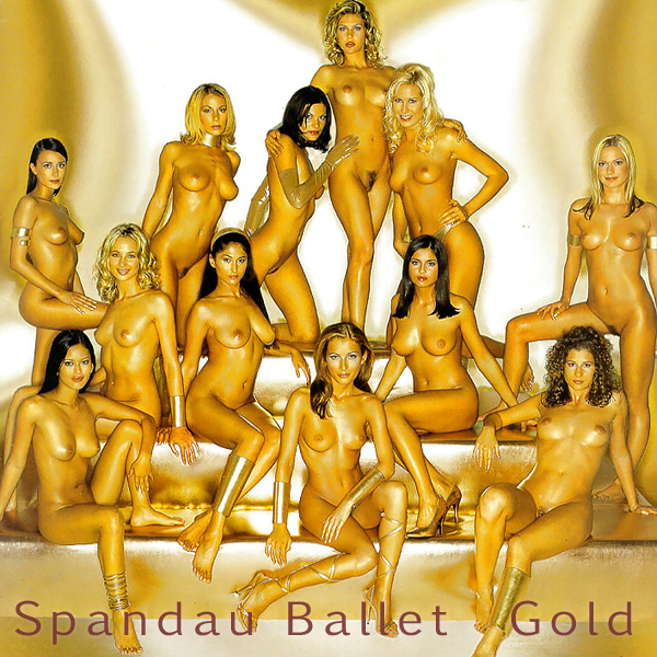 Cover Artwork Remix of Spandau Ballet Gold