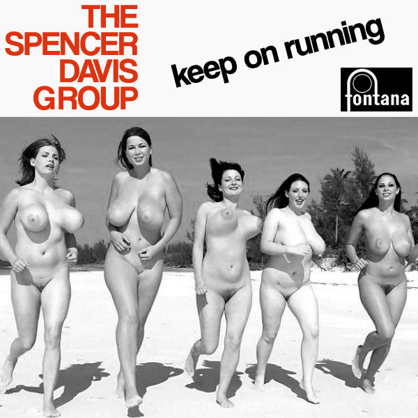 Cover Artwork Remix of Spencer Davis Keep On Runnning