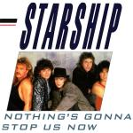 Original Cover Artwork of Starship Nothings Gonna Stop Us Now