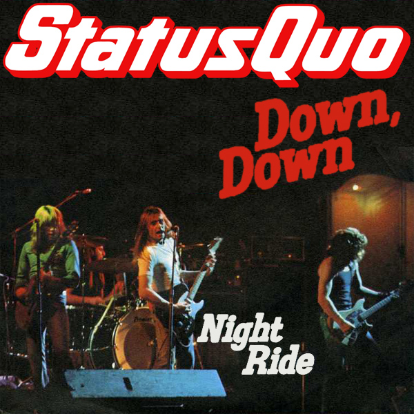 Original Cover Artwork of Status Quo Down