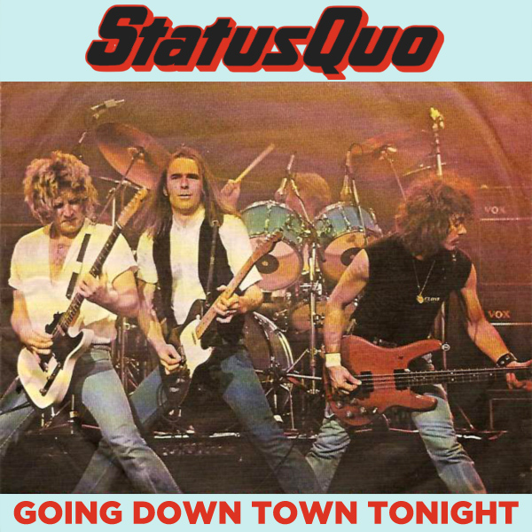 status quo going down town tonight 1
