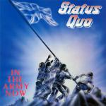 Original Cover Artwork of Status Quo In Army Now