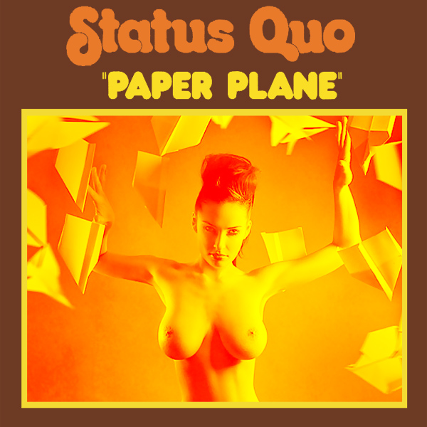 Cover Artwork Remix of Status Quo Paper Plane