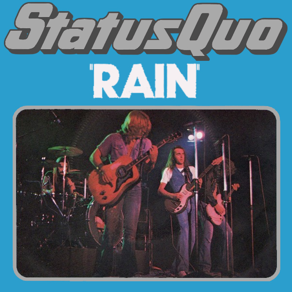 Original Cover Artwork of Status Quo Rain