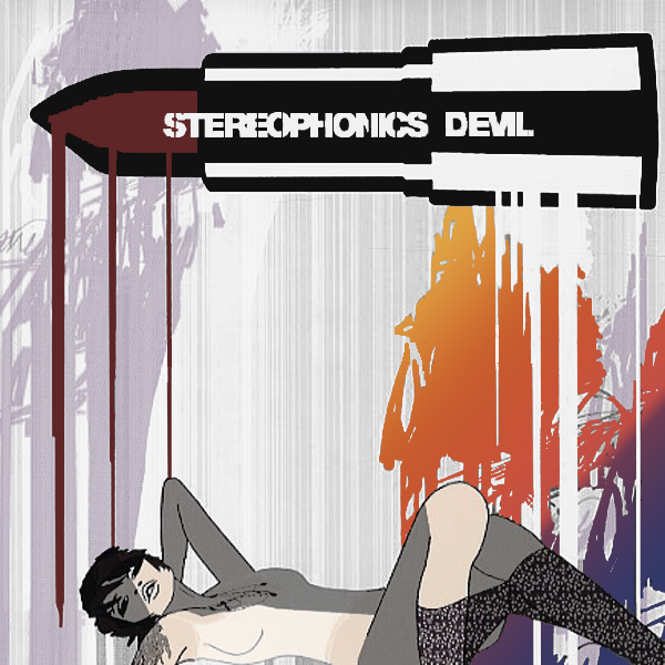 Original Cover Artwork of Stereophonics Devil