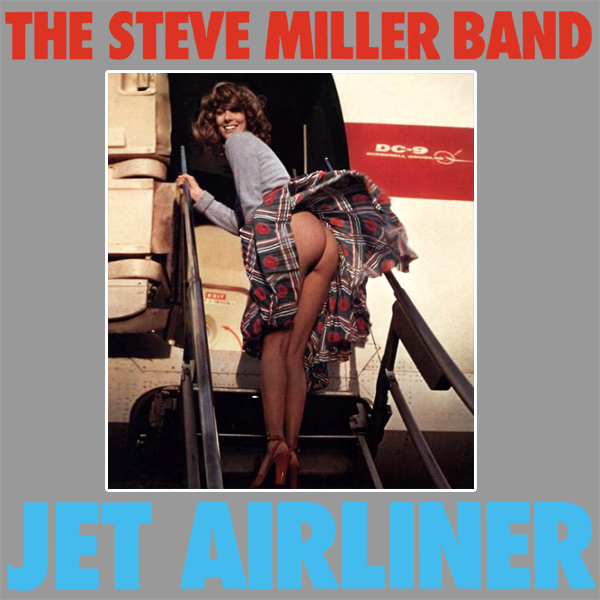 Cover Artwork Remix of Steve Miller Band Jet Airliner