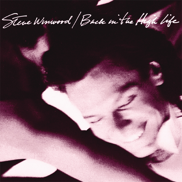 Original Cover Artwork of Steve Winwood Back In The High Life