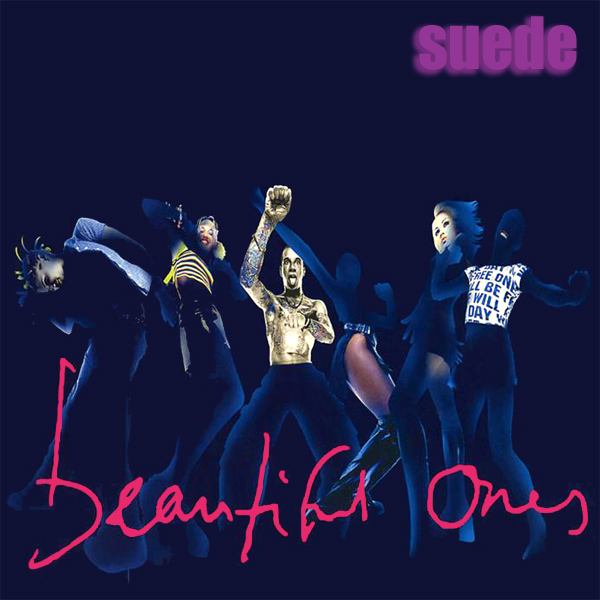 Original Cover Artwork of Suede Beautiful Ones