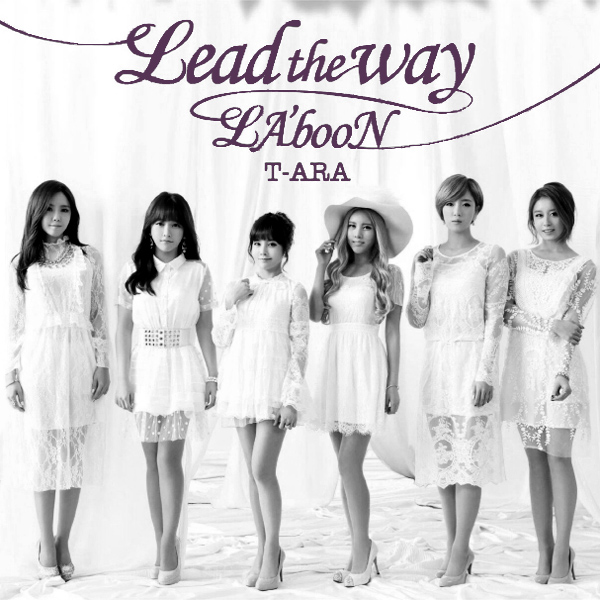 Original Cover Artwork of T Ara Lead The Way