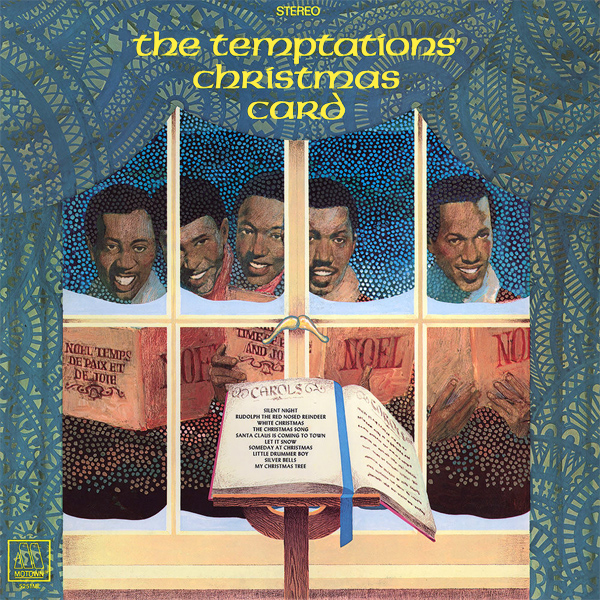 Original Cover Artwork of Temptations Christmas Card