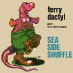 Original Cover Artwork of Terry Dacytl Dinosaurs Sea Side Shuffle