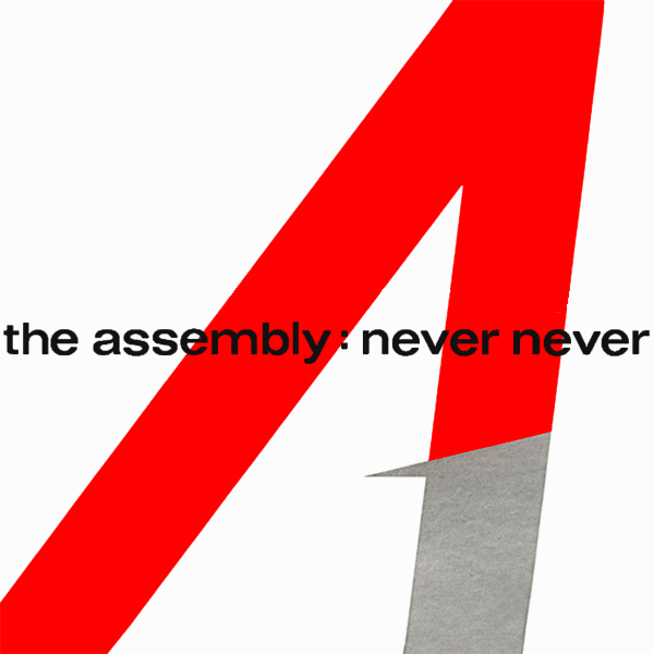 Original Cover Artwork of The Assembly Never Never