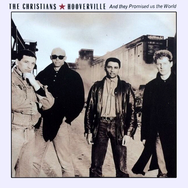 Original Cover Artwork of The Christians Hooverville