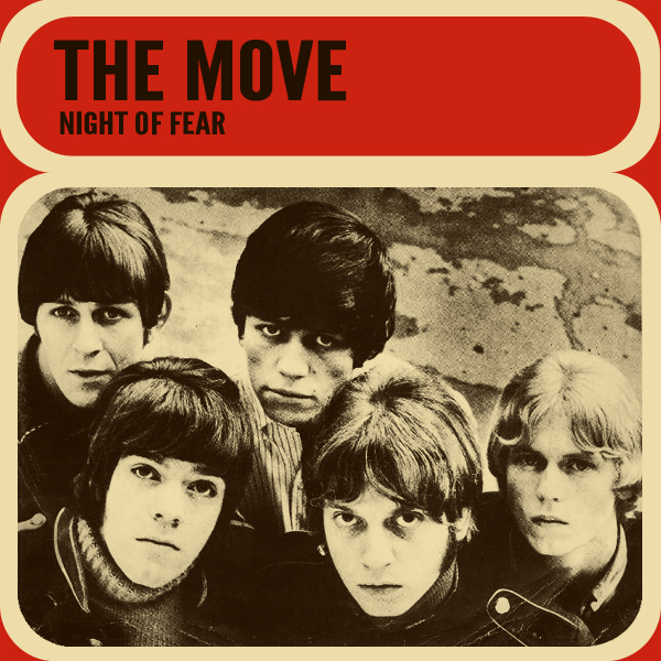 Original Cover Artwork of The Move Night Of Fear