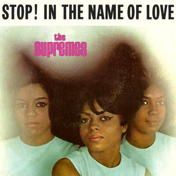 Original Cover Artwork of The Supremes Stop In The Name Of Love