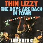 Original Cover Artwork of Thin Lizzy The Boys Are Back In Town