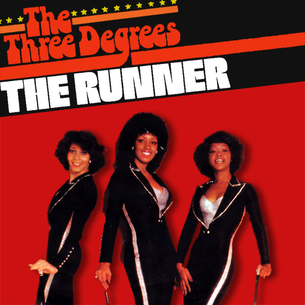 Original Cover Artwork of Three Degrees The Runner