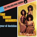 Original Cover Artwork of Three Degrees Year Of Decision