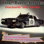 Original Cover Artwork of Timelords Doctorin The Tardis