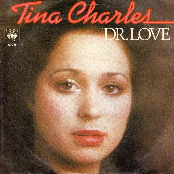 Original Cover Artwork of Tina Charles Dr Love
