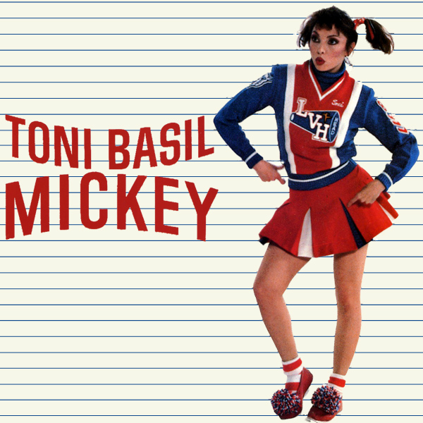 Original Cover Artwork of Toni Basil Mickey